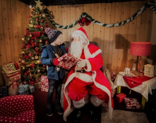 Santa at Lappa Valley